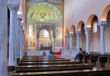 Die Euphrasius-Basilika in der Altstadt von Poreč aus dem 6. Jahrhundert ist das wertvollste Kulturdenkmal Istriens  - © FRASHO / franks-travelbox