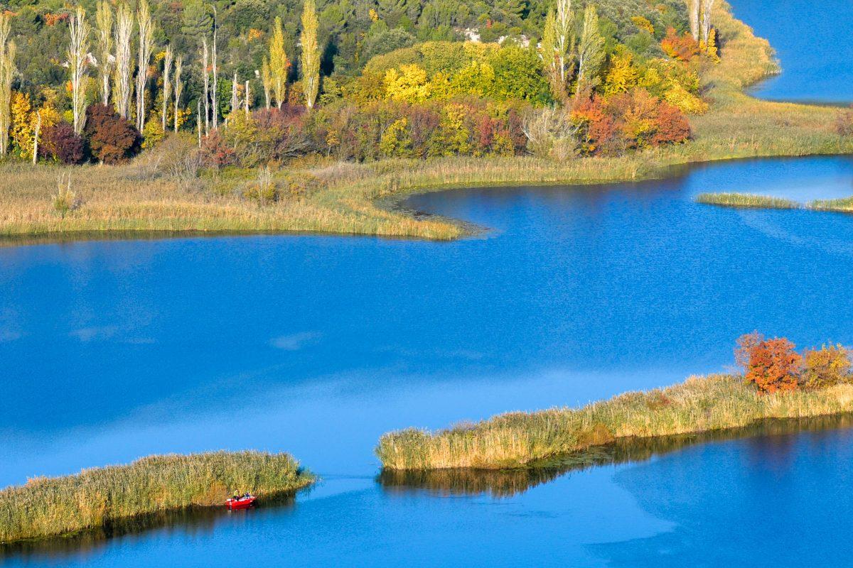 Spätherbstliche Farbenpracht im Krka-Nationalpark in Kroatien - © FRASHO / franks-travelbox