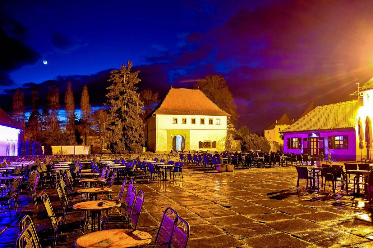 Die erste urkundliche Erwähnung von Varaždin erfolgte im Jahr 1181 in einem Dokument von Béla III., damals König von Kroatien - © xbrchx / Shutterstock