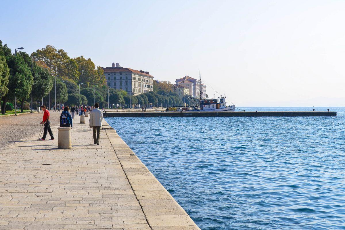 An der Promenade von Zadar, Kroatien - © FRASHO / franks-travelbox