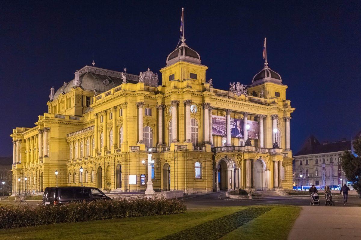 Zeit seines Bestehens hat das Nationaltheater von Zagreb zahlreiche international anerkannte Musikgrößen hervorgebracht, Kroatien - © Ivica Drusany / Shutterstock