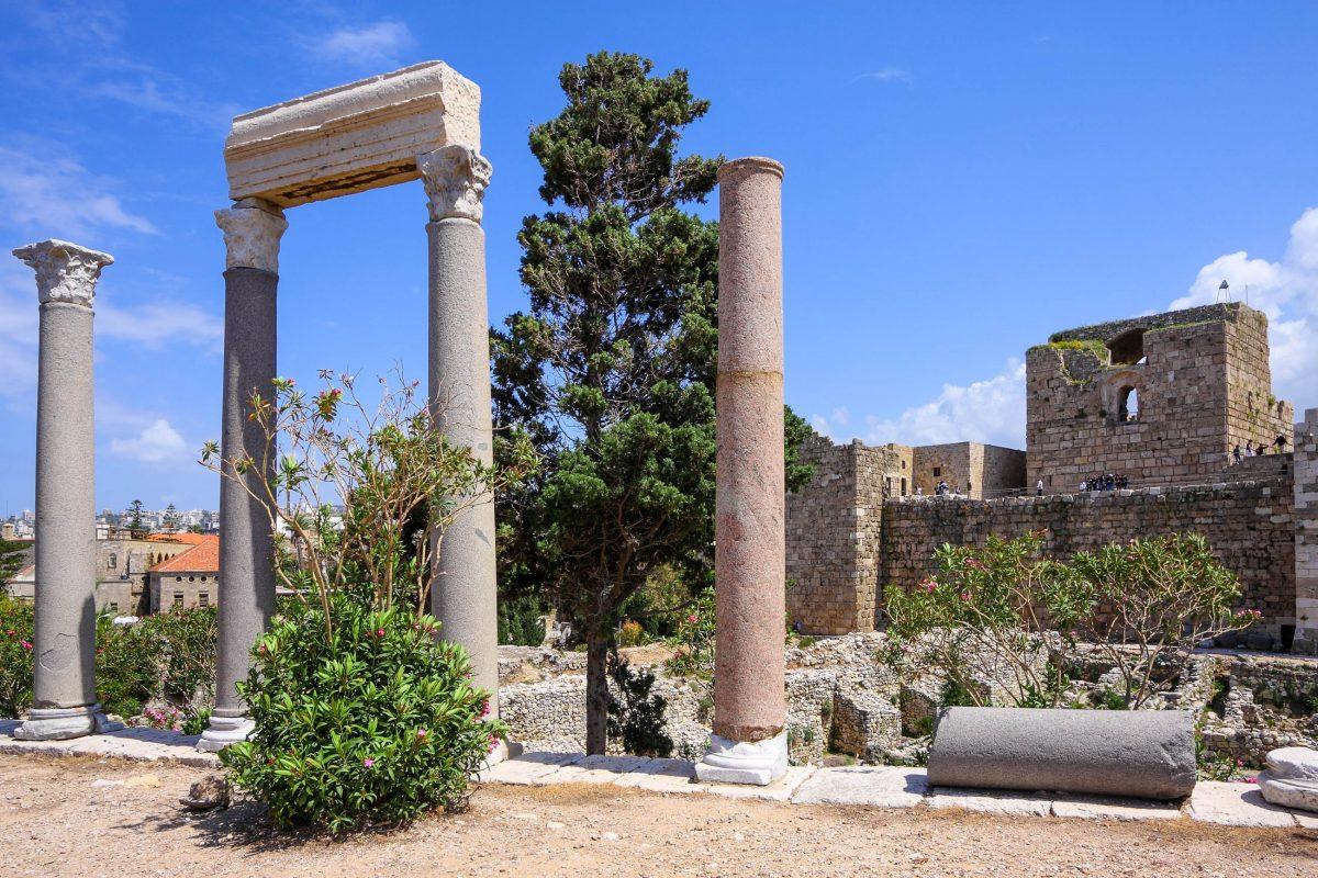 Die Stadt Byblos im Libanon-Gebirge ist eine der ältesten permanent bewohnten Städte der Welt. Archäologische Ausgrabungen gehen bis zur Steinzeit zurück, Libanon - © diak / Fotolia