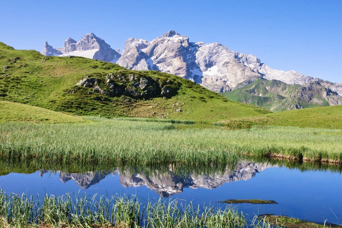 Blick auf den Rätikon, Liechtenstein - © Netzer Johannes / Fotolia