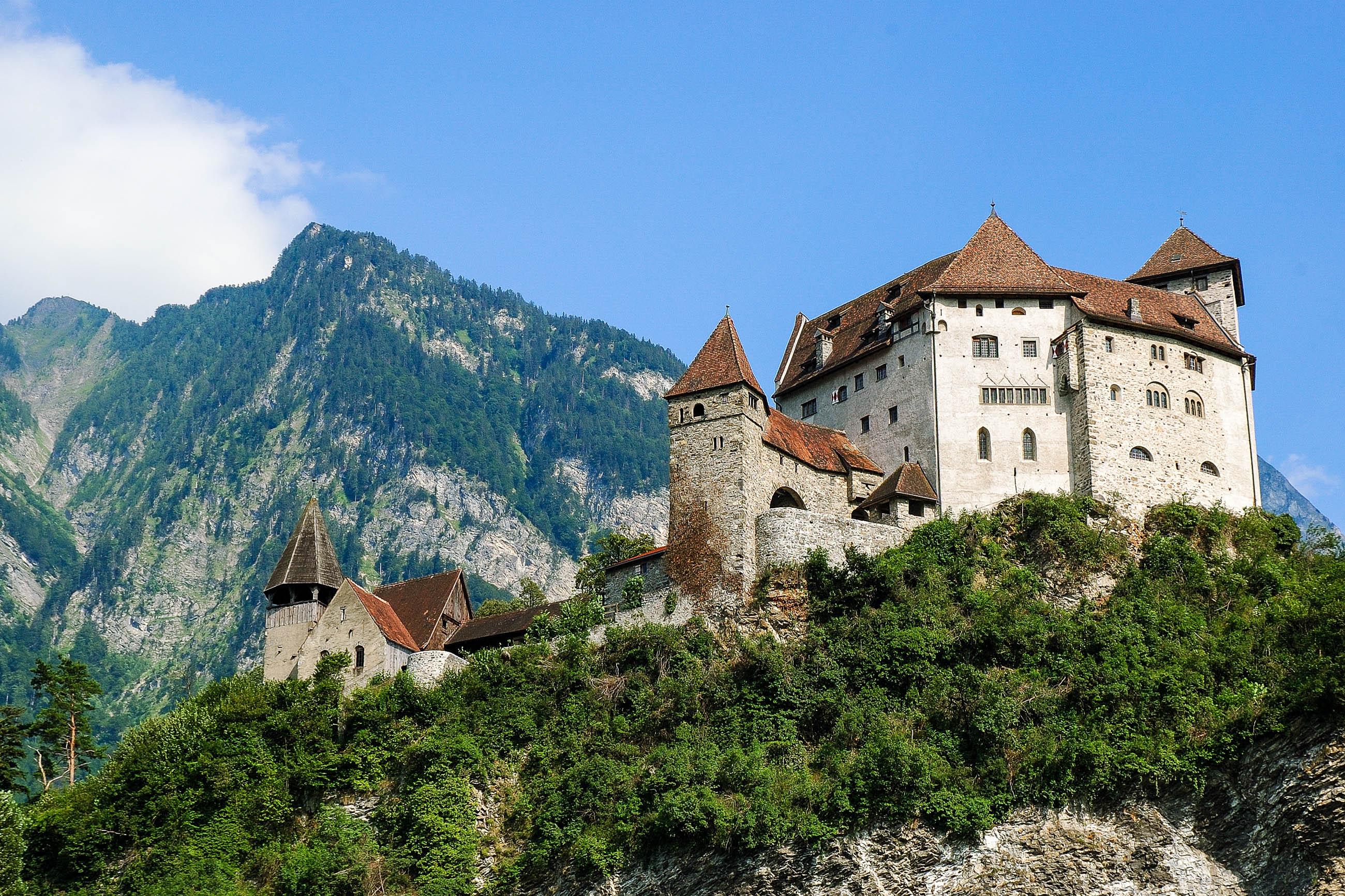 Burg Gutenberg in Balzers, Liechtenstein