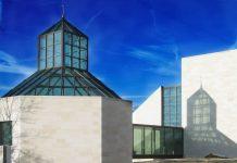 """Das Museum für moderne Kunst (Musée d'Art Moderne Grand-Duc Jean, kurz """"MUDAM"""") befindet sich in der Stadt Luxemburg am Gelände der ehemaligen Verteidigungsanlage Fort Thüngen - © Germain PHILIPPE / Fotolia"""
