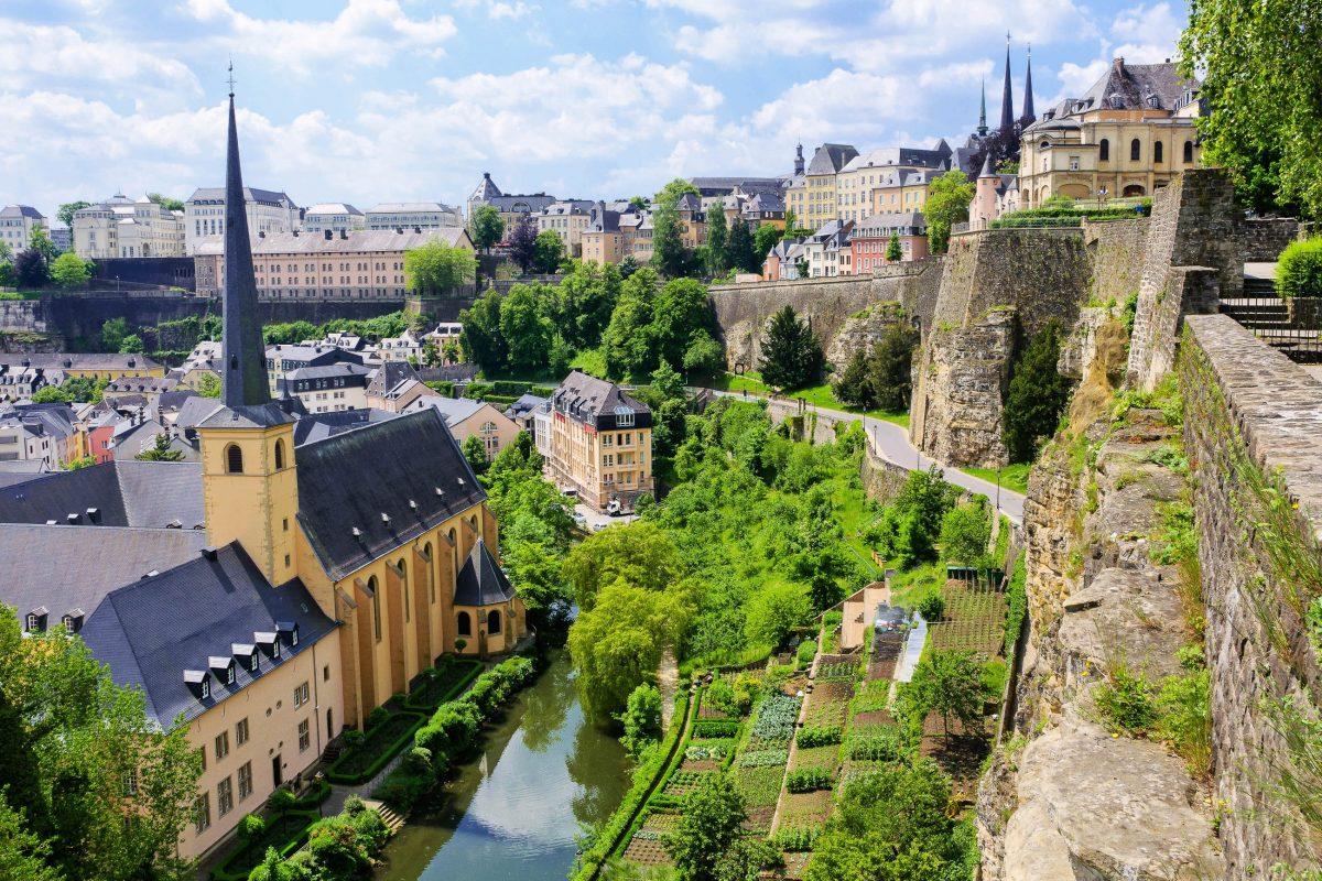 Die Kasematten führten auf mehreren Ebenen kreuz und quer durch den Fels und hatten damals eine Gesamtlänge von 23km, Luxemburg - © Scirocco340 / Shutterstock