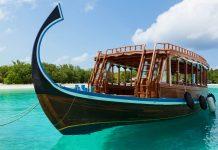 Dhonis, die traditionellen Fischerboote der Malediven, sind im Nationalmuseum in Male zu bewundern - © pinggr / Shutterstock