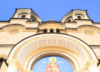 Das Kloster Lešok in der Nähe der Stadt Tetovo im Nordwesten Mazedoniens stammt aus dem 14. Jahrhundert und beherbergt wertvolle Fresken und Ikonen - © Ljupco Smokovski / Fotolia