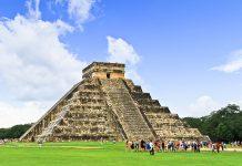 DIe Kukulkan Pyramide in Chichén Itzá wurde 2007 zu einem der Neuen Sieben Weltwunder erklärt, Mexiko - © Patryk Kosmider / Fotolia