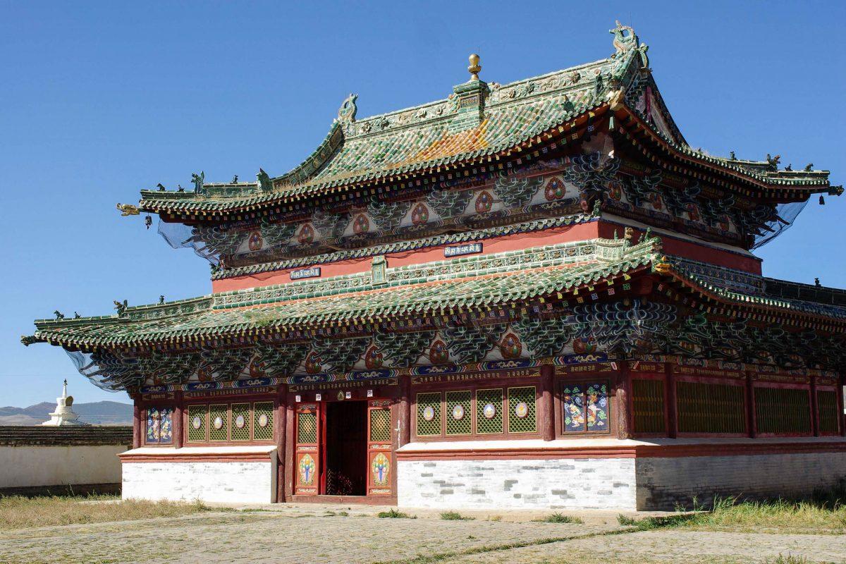 Einer der erhaltenen Tempel der Klosteranlage Erdene Dsuu, Mongolei - © Pascal RATEAU / Fotolia