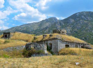 Die Festung Gorazda in Montenegro liegt etwa 3km südlich von Kotor und kann auf eigene Faust besichtigt werden - © FRASHO / franks-travelbox