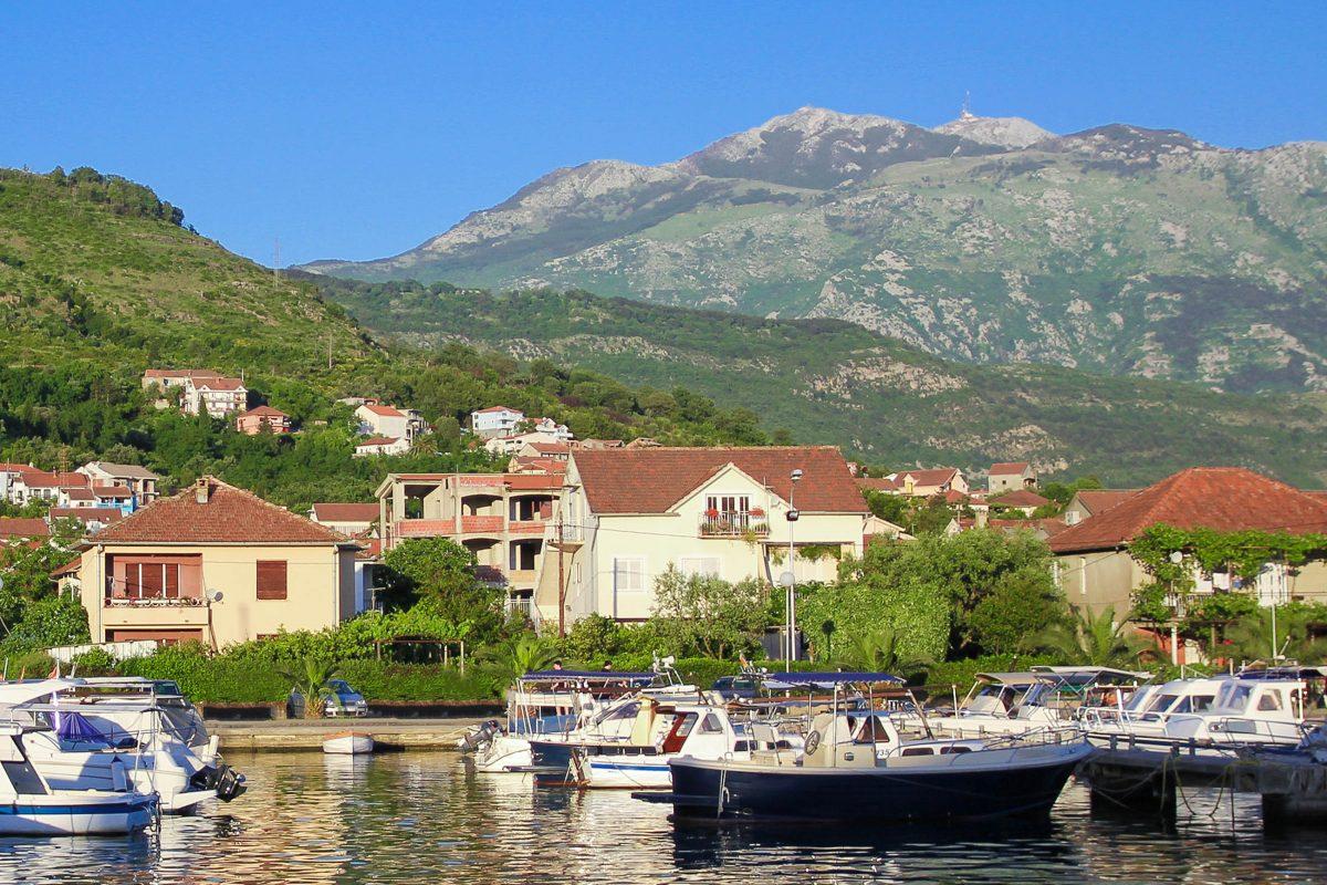 Bilder Tivat Und Halbinsel Lu Tica Montenegro Franks