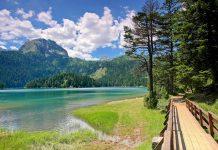 Um den gesamten See verläuft ein rund 3,6 Kilometer langer Rundweg durch die dichten Wälder am Ufer des Crno Jezero, Montenegro - © Dan Tautan / Shutterstock