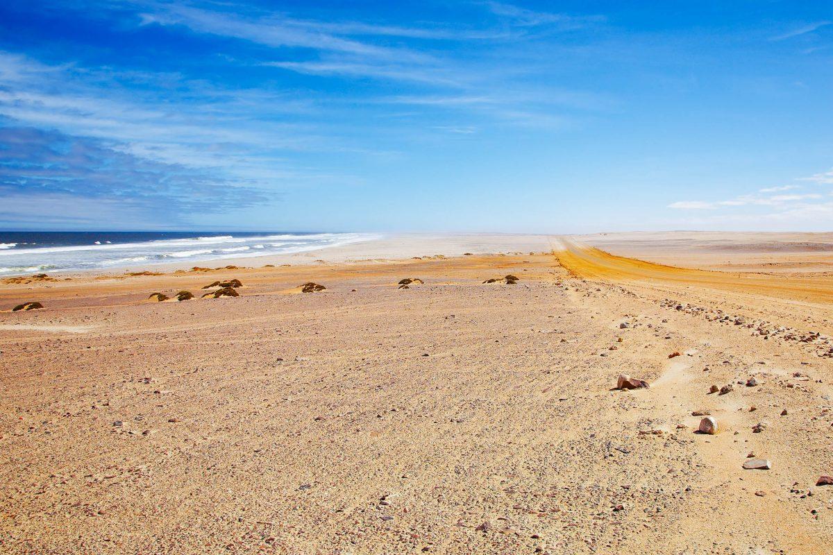 So schön die Skelettküste in Namibia sein mag, so tödlich war früher ihr Hinterland - © Pichugin Dmitry / Shutterstock