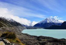 Das Tasman Glacier Valley im herrlichen Mount Cook Nationalpark beherbergt den längsten Gletscher Neuseelands - © FRASHO / franks-travelbox