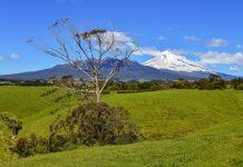 Der Surf Highway an der Westküste von Neuseelands Nordinsel begeistert durch eine atemberaubende Landschaft rund um den Mount Taranaki - © FRASHO / franks-travelbox