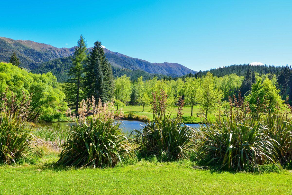 Beim Anblick der sanften Hügel und unberührten Wälder rund um Hanmer Springs schlägt das Herz jedes Outdoor-Urlaubers höher, Neuseeland - © FRASHO / franks-travelbox