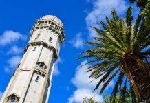 Die unscheinbare Kleinstadt Hawera auf der Nordinsel von Neuseeland bietet von ihrem Wasserturm aus einen herrlichen Rundblick über Taranaki  - © FRASHO / franks-travelbox