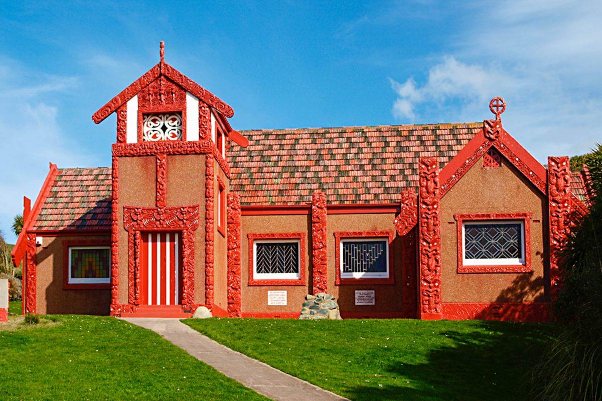 Maori-Kirche in Otakou auf der Otago Halbinsel, Neuseeland - © Ulrich Lange CC BY-SA3.0/Wiki