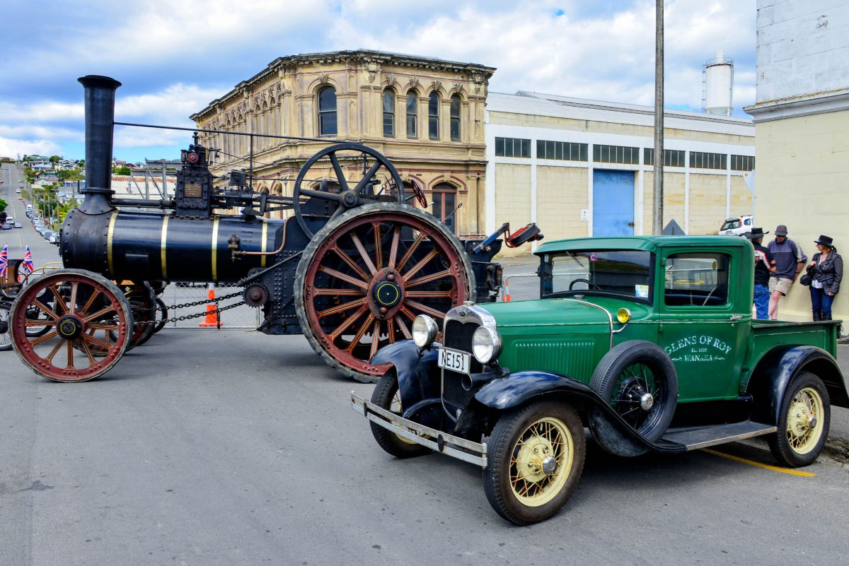 Neben dem Outfit der Bewohner Oamarus zeigt sich bei den Victorian Heritage Celebrations auch die Stadt um hundert Jahre gealtert, Neuseeland - © FRASHO / franks-travelbox
