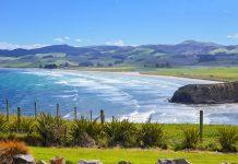 Vom Katiki Point tut sich ein sensationeller Blick über die Küste auf der Südinsel von Neuseeland auf - © FRASHO / franks-travelbox