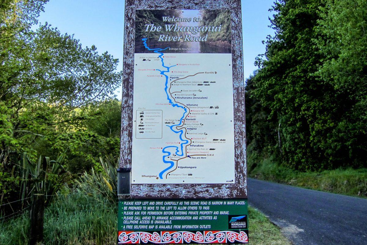 BILDER Whanganui Nationalpark, Neuseeland   Franks Travelbox