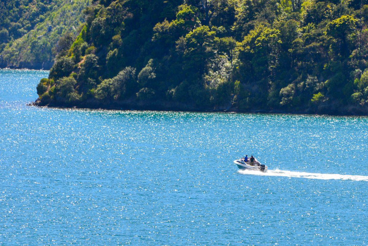 Wassertaxis und Ausflugsboote bieten Erkundungstrips in die idyllischen Buchten des Queen Charlotte Sound an, Neuseeland - © FRASHO / franks-travelbox