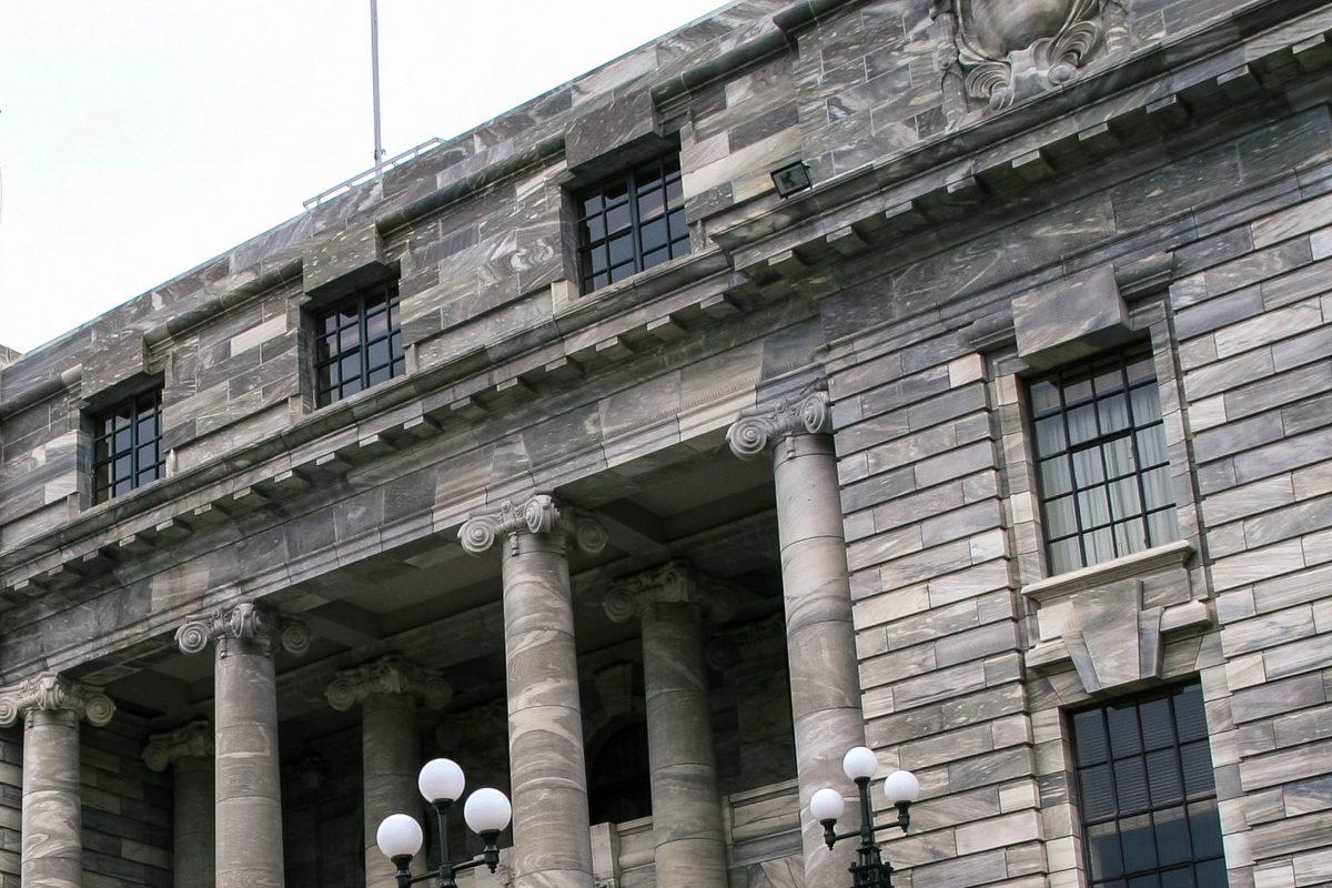 Die heutigen Parlamentsgebäude stammen aus dem Jahr 1907, nachdem die vorhergehenden hölzernen Gebäude einem Großbrand zum Opfer fielen, Wellington, Neuseeland - © ezk / franks-travelbox