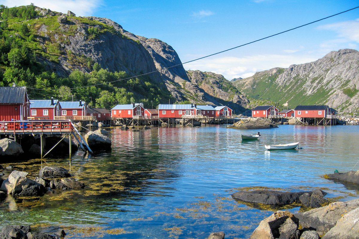 1975 war Nusfjord eines von drei Pilotprojekten Norwegens im Zuge des Europäischen Jahres für Denkmalschutz - © FRASHO / franks-travelbox