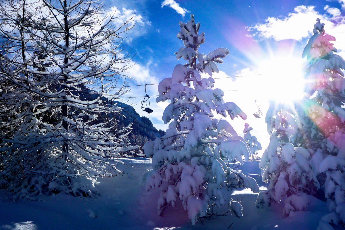 Nicht nur Skifahrer, sondern auch Wanderer erfreuen sich an der Winterwunderwelt auf der Turracher Höhe, Österreich - © Lila Pharao / franks-travelbox
