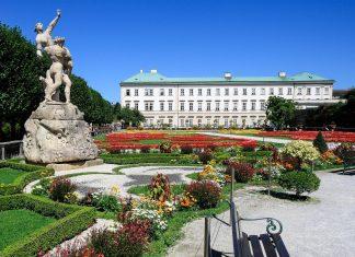 Der Mirabellgarten ist der Schlosspark des Schlosses Mirabell; eine der Attraktionen des Mirabellgartens sind seine wunderschön angelegten Gärten, Salzburg, Österreich - © Tupungato / Fotolia