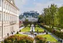 Der Mirabellgarten ist vor allem mit der Festung Hohensalzburg im Hintergrund ein beliebtes Fotomotiv und erfolgreicher Besuchermagnet von Salzburg, Österreich - © James Camel / franks-travelbox.com