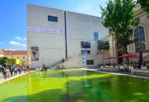 Das Leopold-Museum beeindruckt seine 350.000 Besucher im Jahr in erster Linie mit seiner bemerkenswerten Sammlung an Werken von Egon Schiele und Gustav Klimt, Wien, Österreich - © FRASHO / franks-travelbox