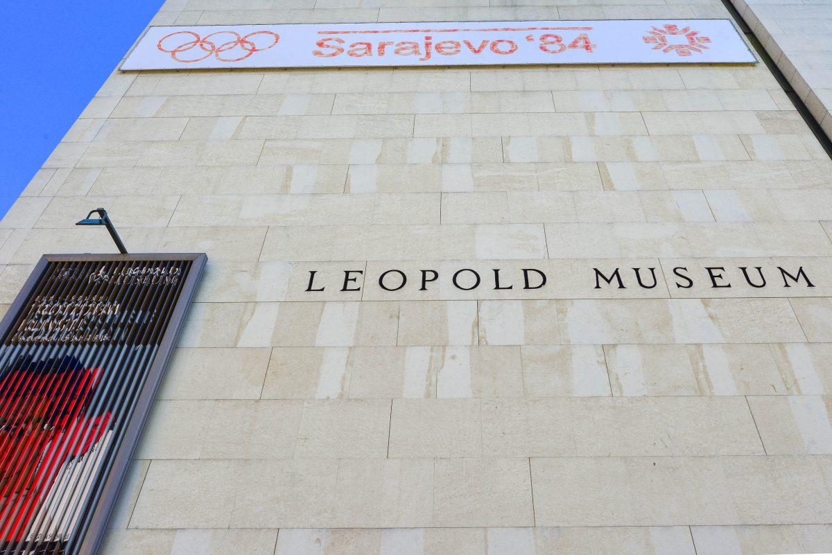 Das Leopoldmuseum im Museumsquartier von Wien ist eine einzigartige Schatzkammer der Moderne Österreichs und wird jedes Jahr von etwa 350.000 Kunstinteressierten besucht, Österreich - © FRASHO / franks-travelbox