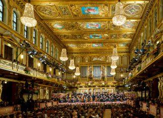 Das traditionelle Neujahrskonzert der Wiener Philharmoniker im Wiener Musikverein ist das berühmteste Neujahrskonzert der Welt, Österreich - © RichardSchuster/WrPhilharmoniker