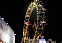 Das Wiener Riesenrad wurde anlässlich des 50jährigen Thronjubiläums von Kaiser Franz Joseph I. errichtet und am 3. Juli 1897 feierlich eingeweiht, Österreich - © M R / Shutterstock