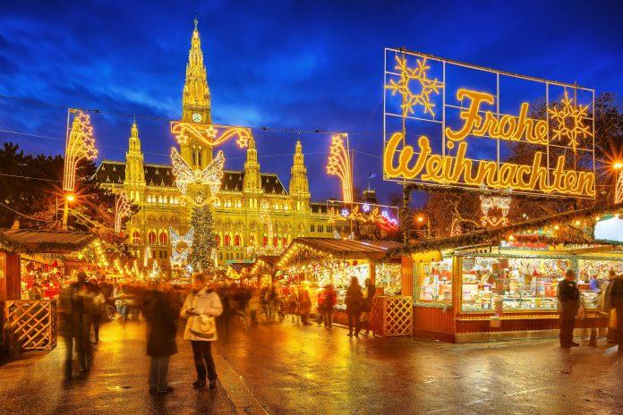 Weihnachtsmarkt Wien Eröffnung.Weihnachtsmarkt Am Rathausplatz In Wien österreich Franks Travelbox