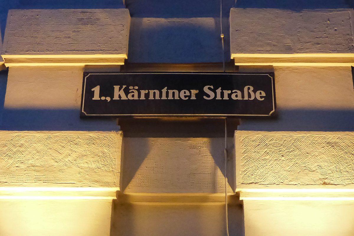 """Die Kärntnerstraße in Wien wurde bereits im Jahr 1257 als """"Strata Carinthianorum"""" erstmals urkundlich erwähnt, Österreich - © Lila Pharao / franks-travelbox"""