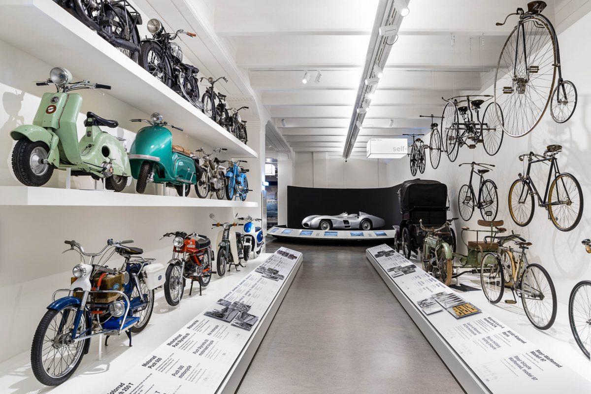 Im Technischen Museum in Wien werden die Entwicklungen aus Bahnverkehr, Schiffbau, Luftfahrt, Musik, Elektronik und Industrie dargestellt, Österreich - © Klaus Pichler
