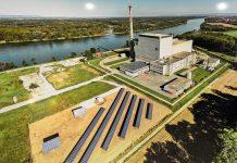 Das AKW Zwentendorf in Niederösterreich an der Donau, sollte für 1,8 Millionen Haushalte Strom erzeugen, ging jedoch nie in Betrieb - © James Camel / franks-travelbox