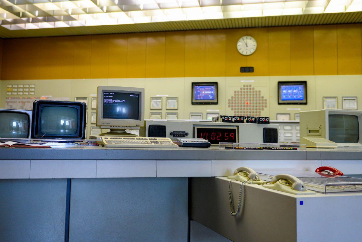 Obwohl die dort sichtbare Technologie aus den 1970er-Jahren stammt, ist die Schaltwarte im AKW Zwentendorf ein faszinierender Anblick, Österreich - © James Camel / franks-travelbox