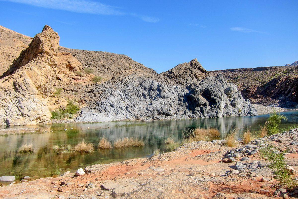 Das Wadi Dhayqah kann im Zuge einer ca. 6stündigen Wanderung erkundet werde, Oman - © FRASHO / franks-travelbox