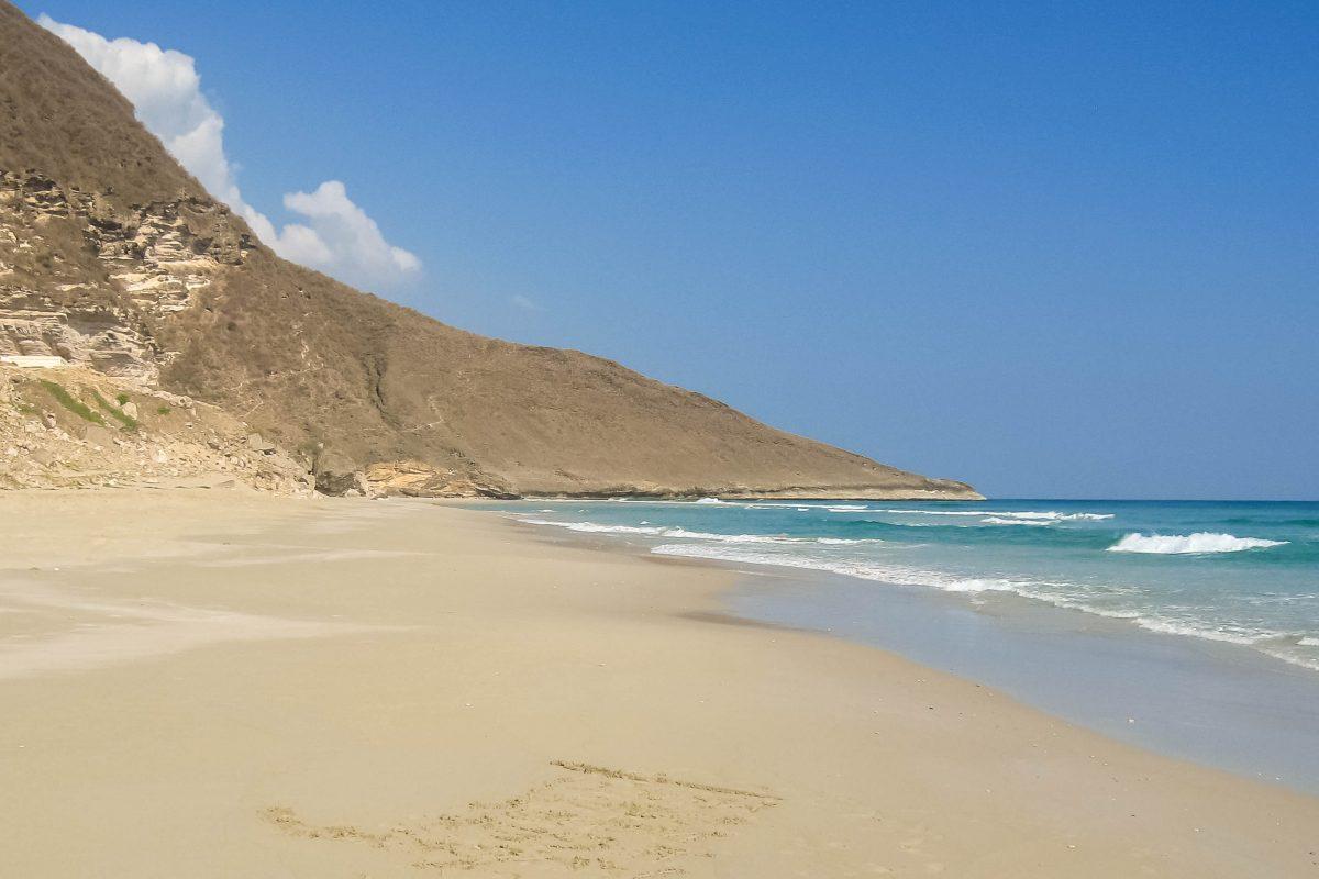 Der Strand von Rakhyut, Oman - © FRASHO, franks-travelbox