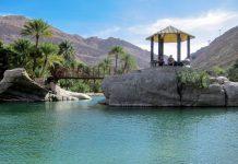 Im Wadi bani Khalid, der bekanntesten Oase im Oman mitten in der Gebirgswüste des Al Hajar kann man das ganze Jahr über wunderbar entspannen - © FRASHO / franks-travelbox