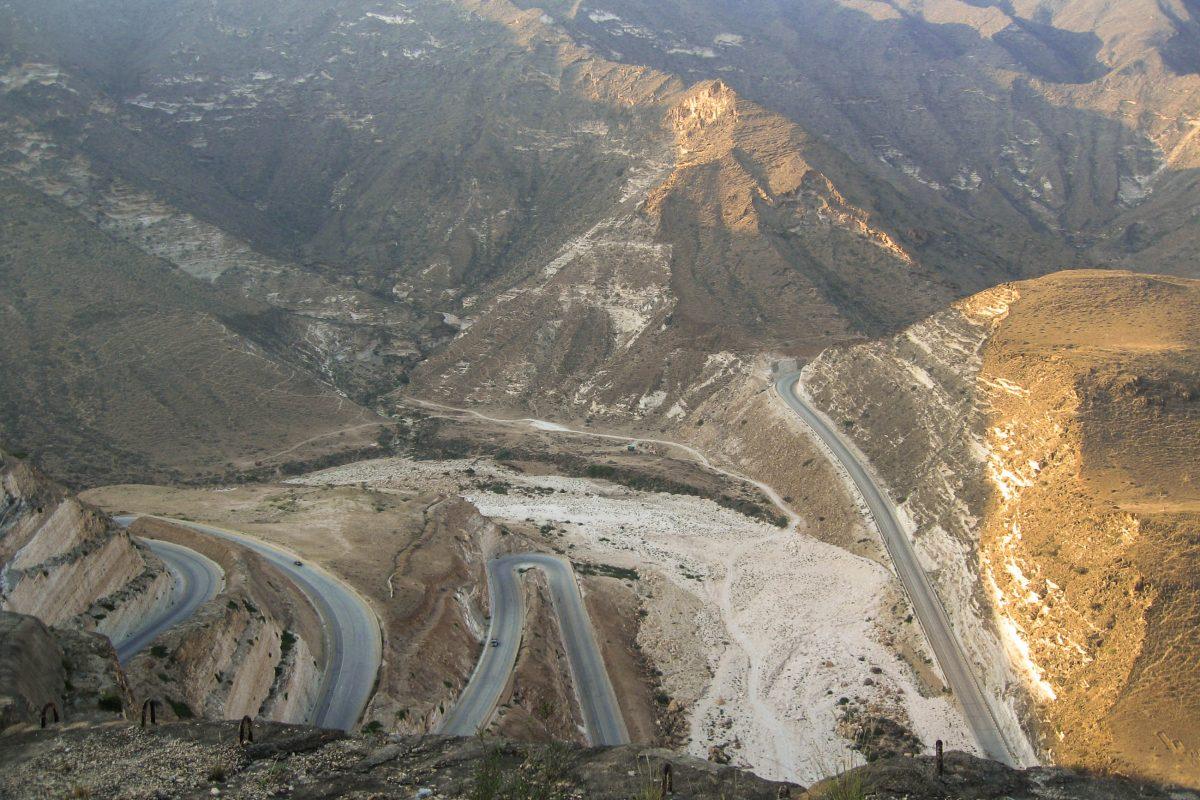 Zig-Zag-Road, Oman - © FRASHO, franks-travelbox