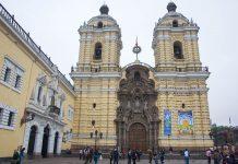 """Das Franziskanerkloster """"Convento de San Francisco""""  zählt zu den spektakulärsten Bauten der Hauptstadt Lima, Peru - © flog / franks-travelbox"""