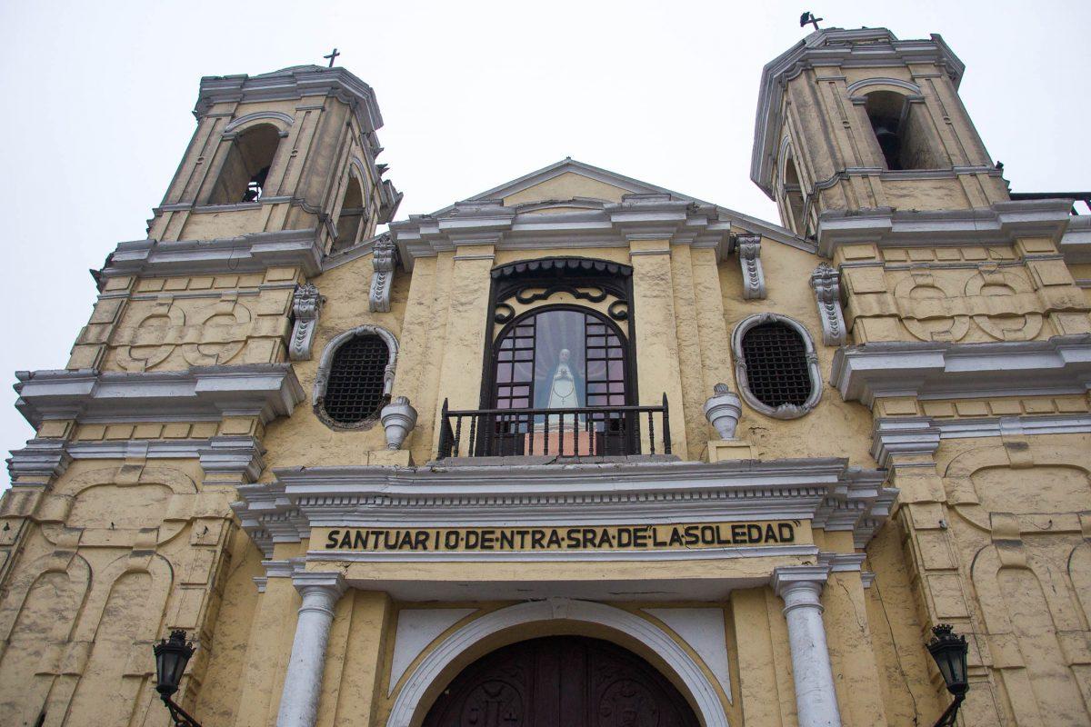 Das Franziskanerkloster von Lima besticht durch seine einzigartige Architektur des spanischen Barock, Peru - © flog / franks-travelbox