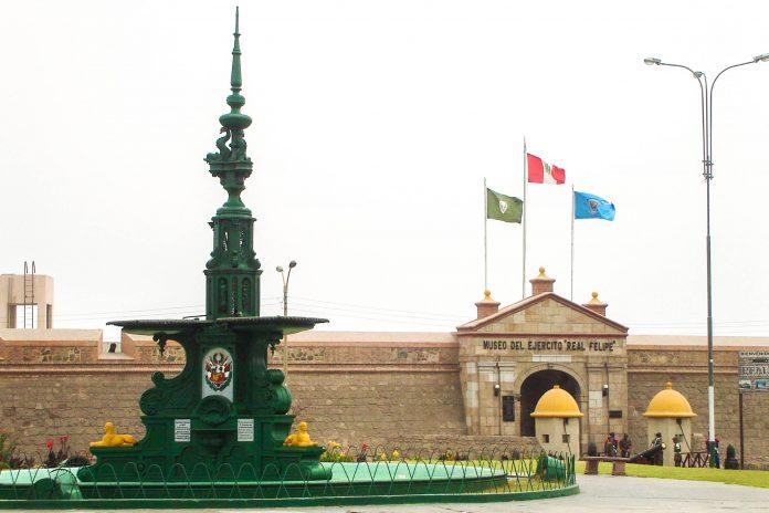 Die Festung Real Felipe in Lima, Peru, ist die größte Festung, die von den Spaniern auf dem amerikanischen Kontinent errichtet wurde - © Rarrunat PD / Wiki