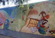 Rund um die Nationaluniversität in Trujillo führt das längste Mosaik der Welt, Peru - © flog / franks-travelbox