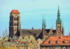 Blick auf die Marienkirche in Danzig, der größten Backsteinkirche Europas und einer der größten der Welt, Polen - © Nightman1965 / Shutterstock